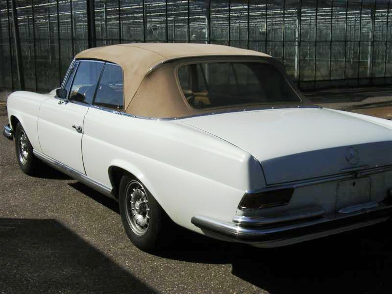 mercedes 280 se cabrio joop stolze classic cars. Black Bedroom Furniture Sets. Home Design Ideas