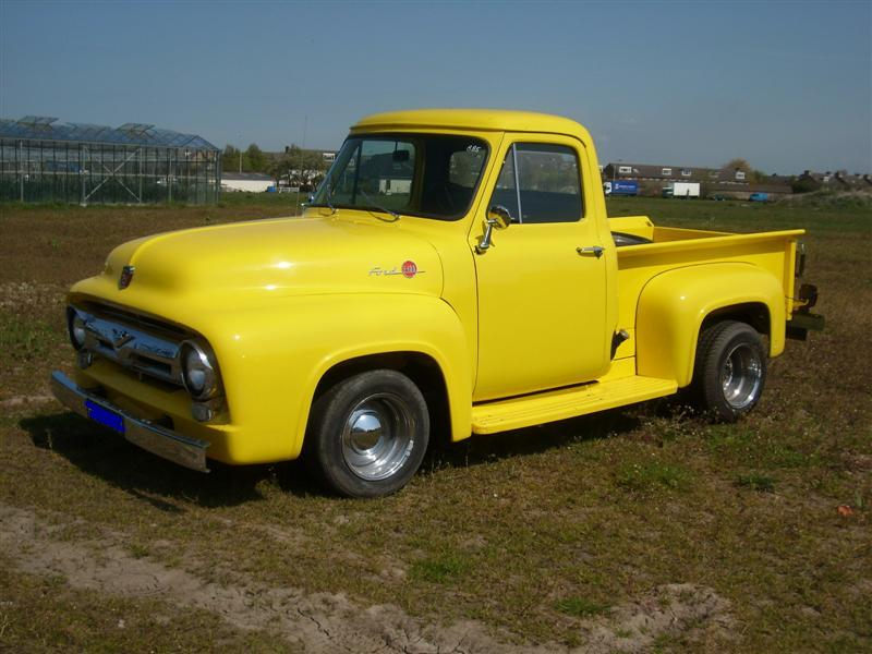 Ford Pick Up F100 Pick Up Yellow Joop Stolze Classic Cars