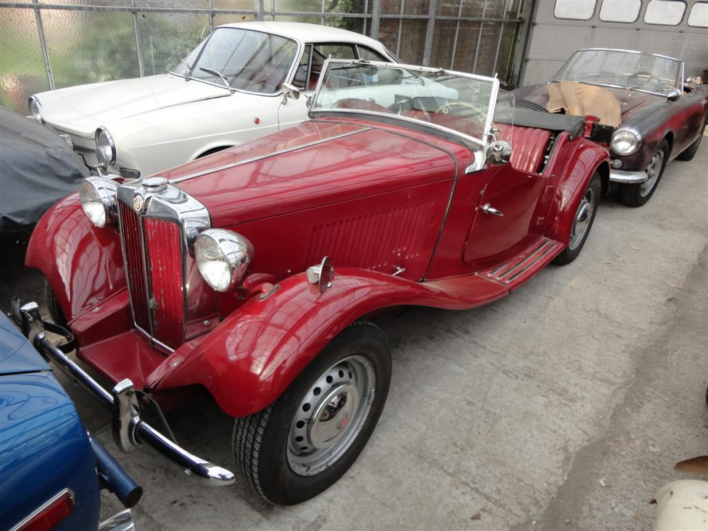 mg td red 2744 joop stolze classic cars. Black Bedroom Furniture Sets. Home Design Ideas