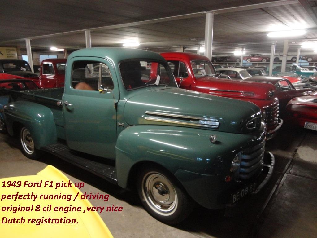 ford pick up f1 pick up joop stolze classic cars. Black Bedroom Furniture Sets. Home Design Ideas