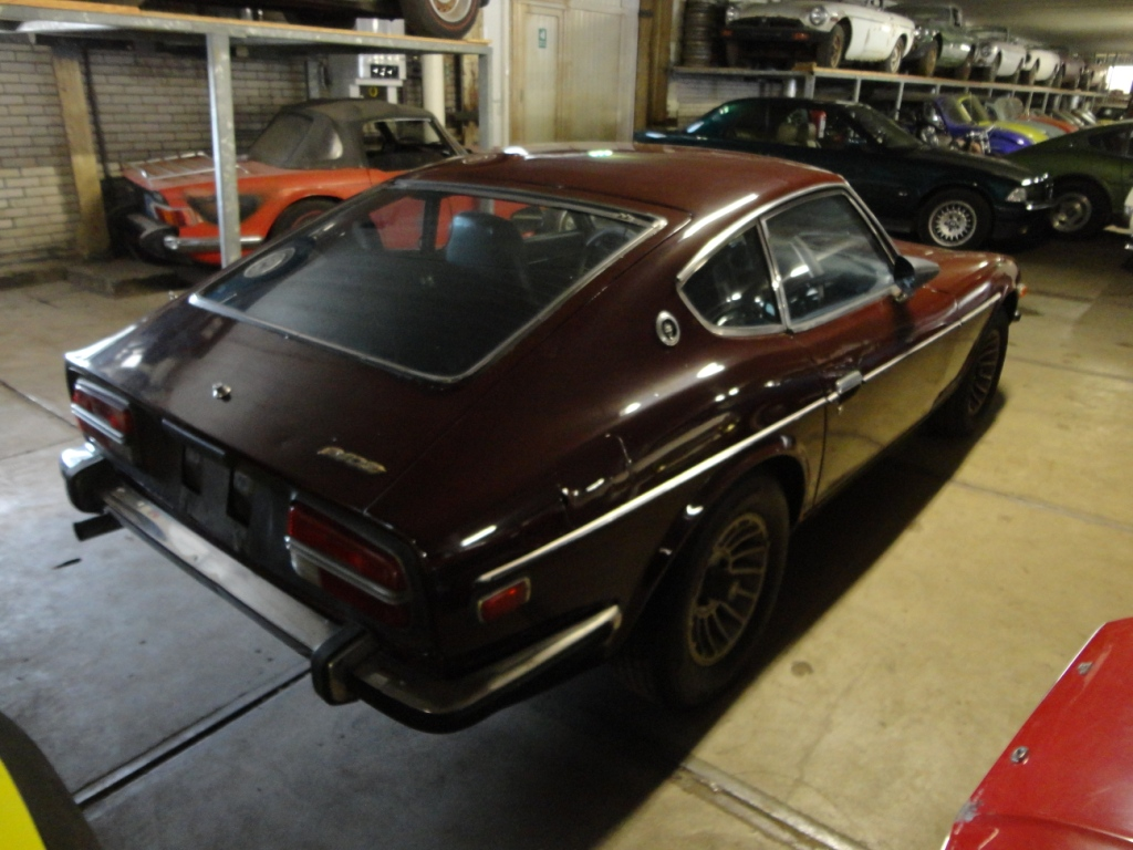 Car Paint Prices >> Datsun-240Z maroon red | Joop Stolze Classic Cars