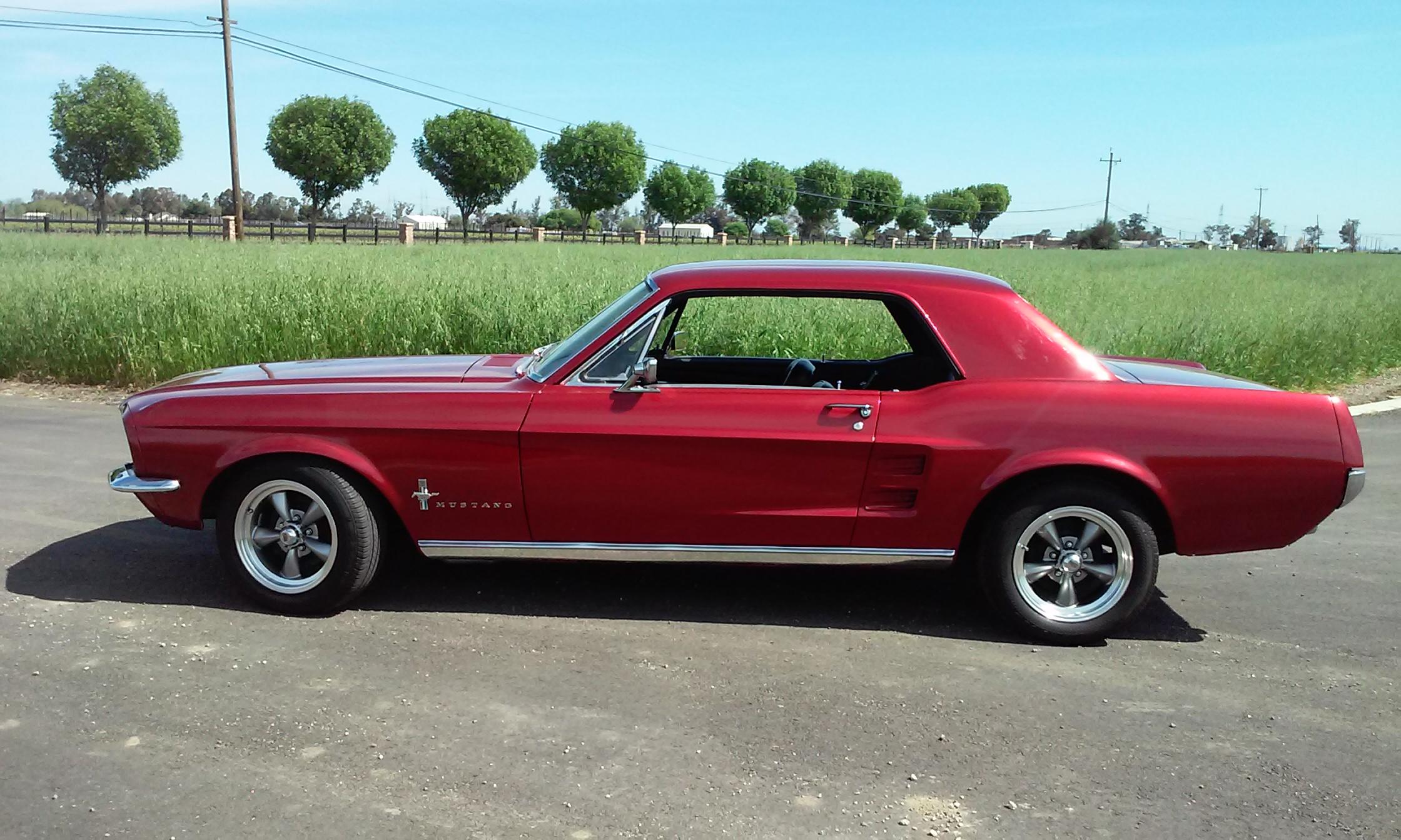 Mustang 67 Colors