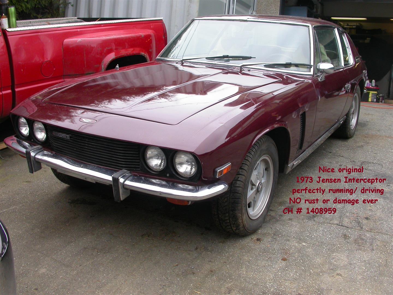 Jensen Interceptor Joop Stolze Classic Cars