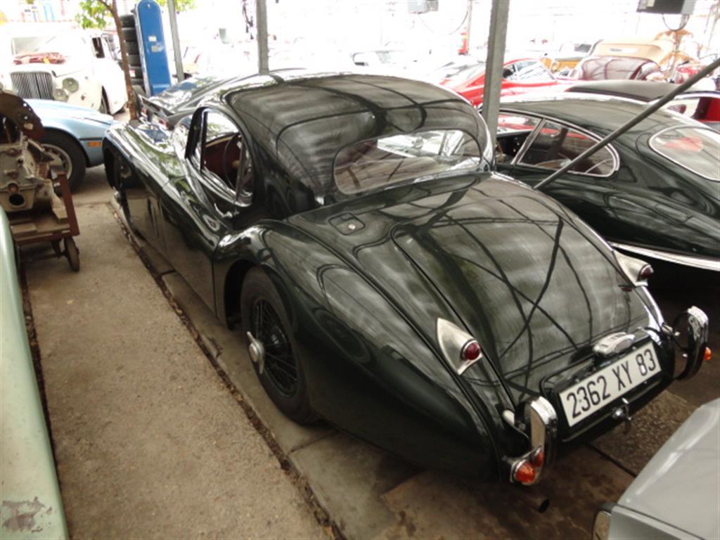 Jaguar - XK 120 coupe