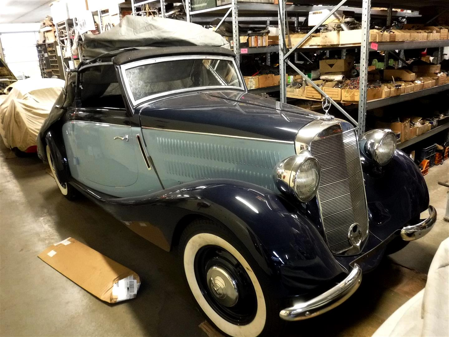 Mercedes-170V A 2 seater roadster | Joop Stolze Classic Cars