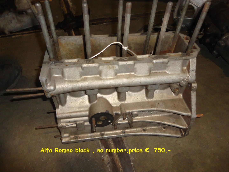 alfa romeo engines parts onbepaald joop stolze classic cars. Black Bedroom Furniture Sets. Home Design Ideas