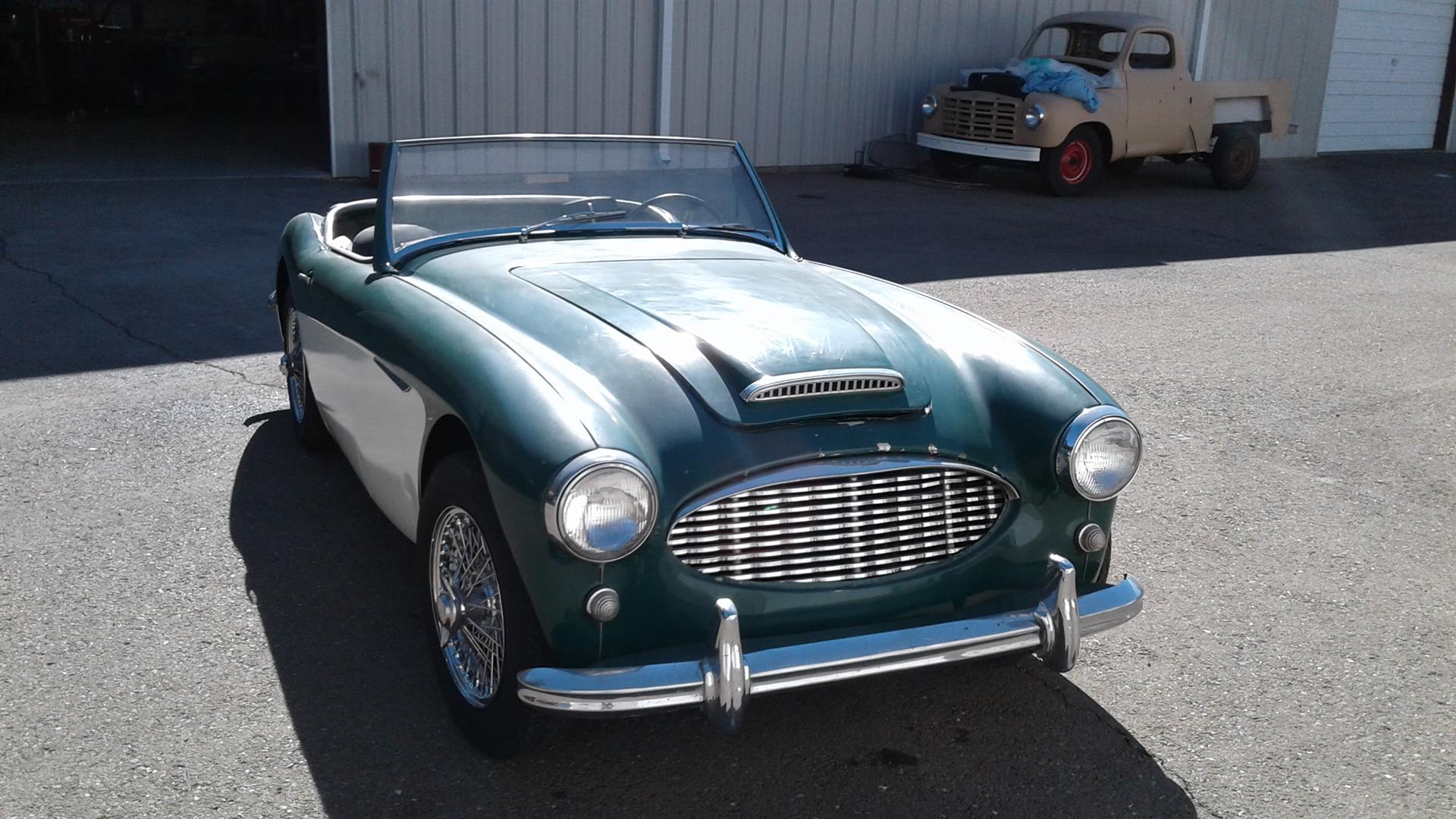 austin healey 100 6 2 2 seater joop stolze classic cars. Black Bedroom Furniture Sets. Home Design Ideas