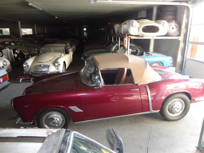 fiat 1100 tv spider nice joop stolze classic cars. Black Bedroom Furniture Sets. Home Design Ideas