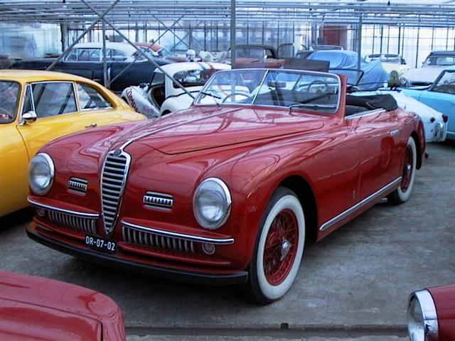alfa romeo 6c2500 cabrio joop stolze classic cars. Black Bedroom Furniture Sets. Home Design Ideas
