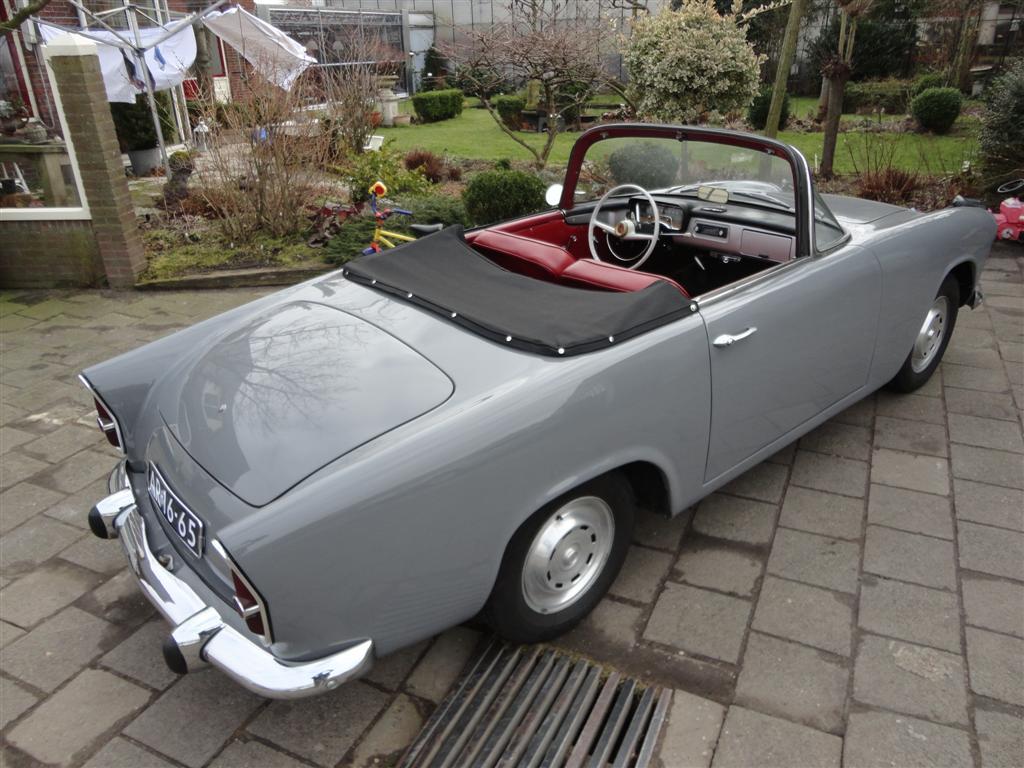 Étonnant Simca-Aronde cabrio   Joop Stolze Classic Cars EP-34