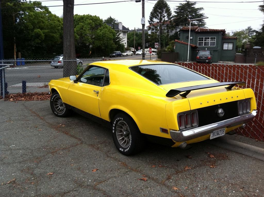 70 Mustang Fastback For Sale